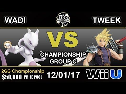 2GGC - EMP   WaDi (Mewtwo) Vs. P1   Tweek (Cloud) Group C - Championship