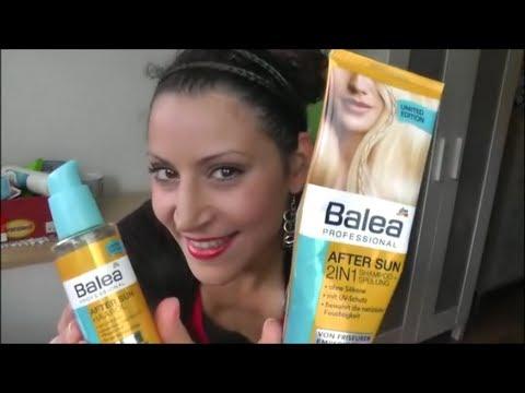 Getestet Balea After Sun Haar Pflege Serie Review Youtube