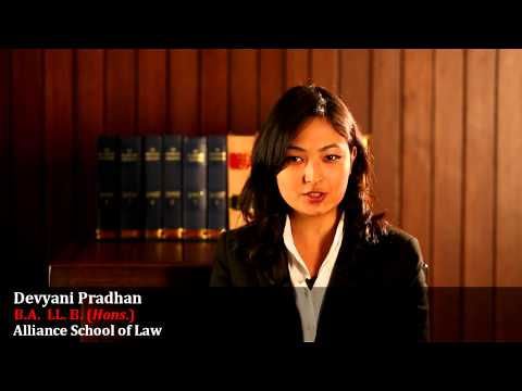 Alliance University Bangalore | Law Student Testimonial - 3