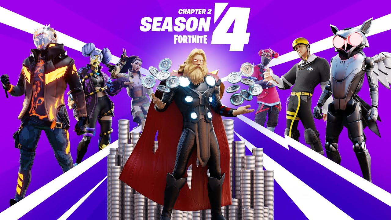 Fortnite Chapter 2 Season 4 Battle Pass Gameplay Trailer Youtube