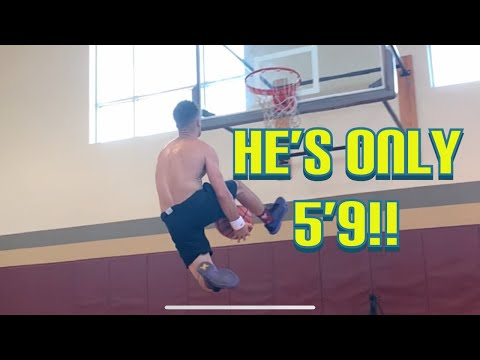 Teaching Someone To Dunk!! Plus My Weightlifting Session