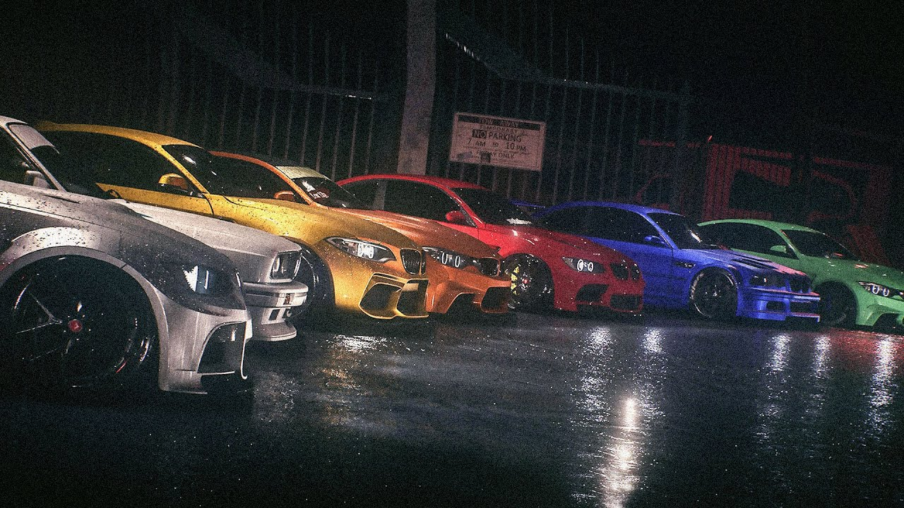 Test Nfs 2015 Bmw Car Meet Need For Speed Youtube