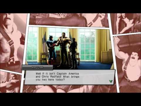 Marvel vs Capcom 3: Haggar's Ending and Character Model