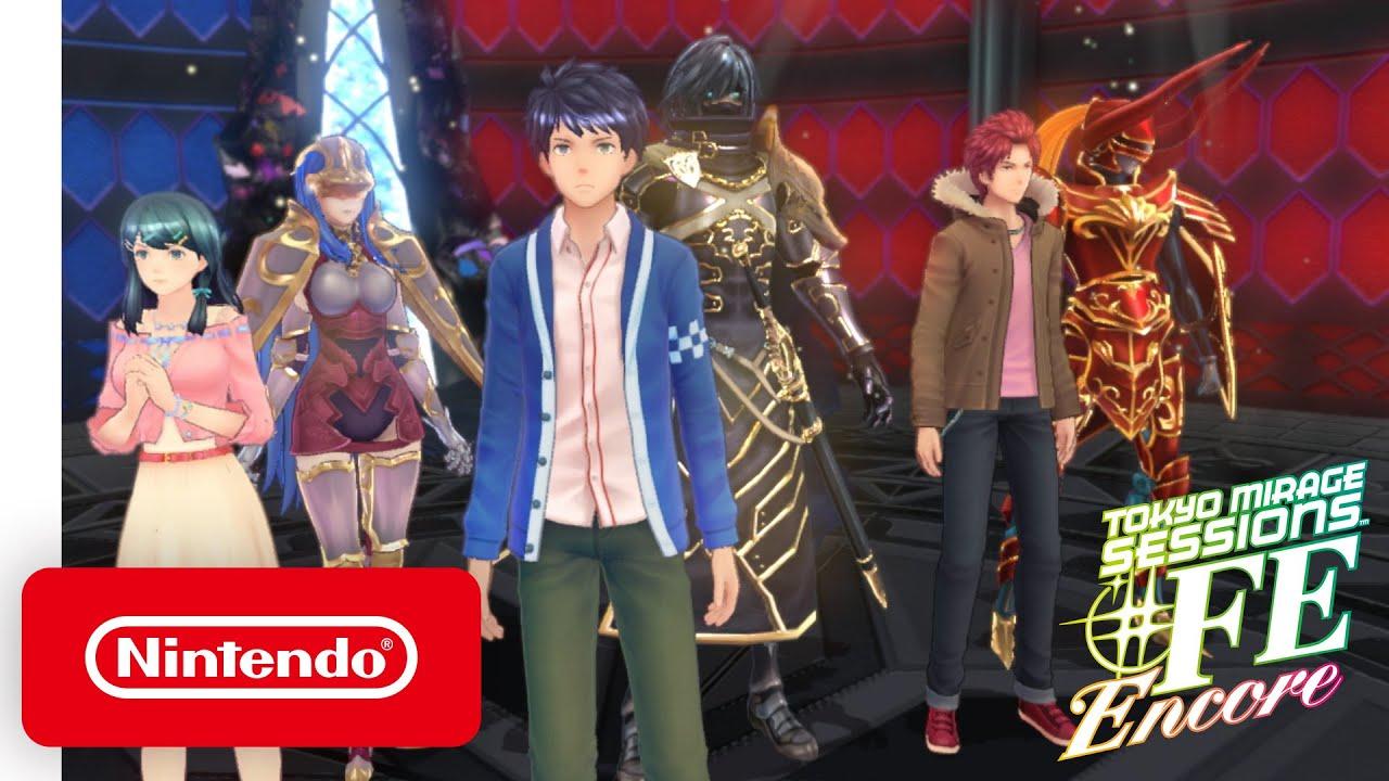 Tokyo Mirage Sessions #FE Encore - Battle Trailer - Nintendo Switch -  YouTube
