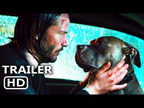 """JOHN WICK 3 """"John gets separated from his dog"""" Clip Trailer (2019) Action Movie HD"""