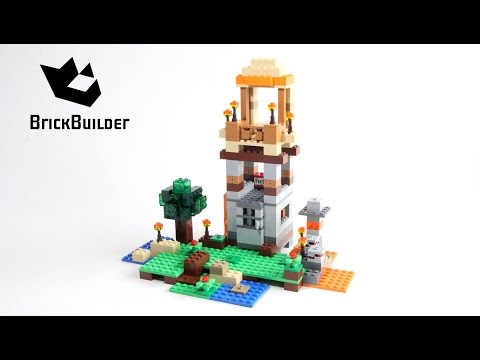 Lego Minecraft 21116 Crafting Box - version 7 - Lego Speed Build