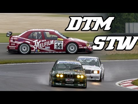 155 V6 DTM, 190e dtm, Vectra stw, E36 stw, 635 csi and more (Tourenwagen classics 2016)