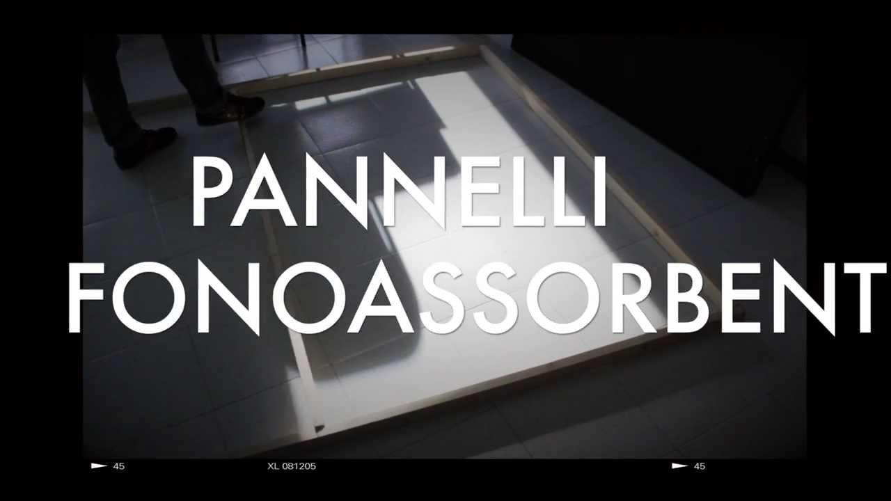 Pannelli acustici fai da te per project studio youtube for Pannelli di cartone