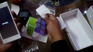 best phone videocon infinium z50 quad unboxing