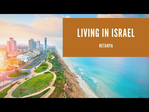 LIFE IN ISRAEL   NETANYA - A Canadian Couple In This Amazing City