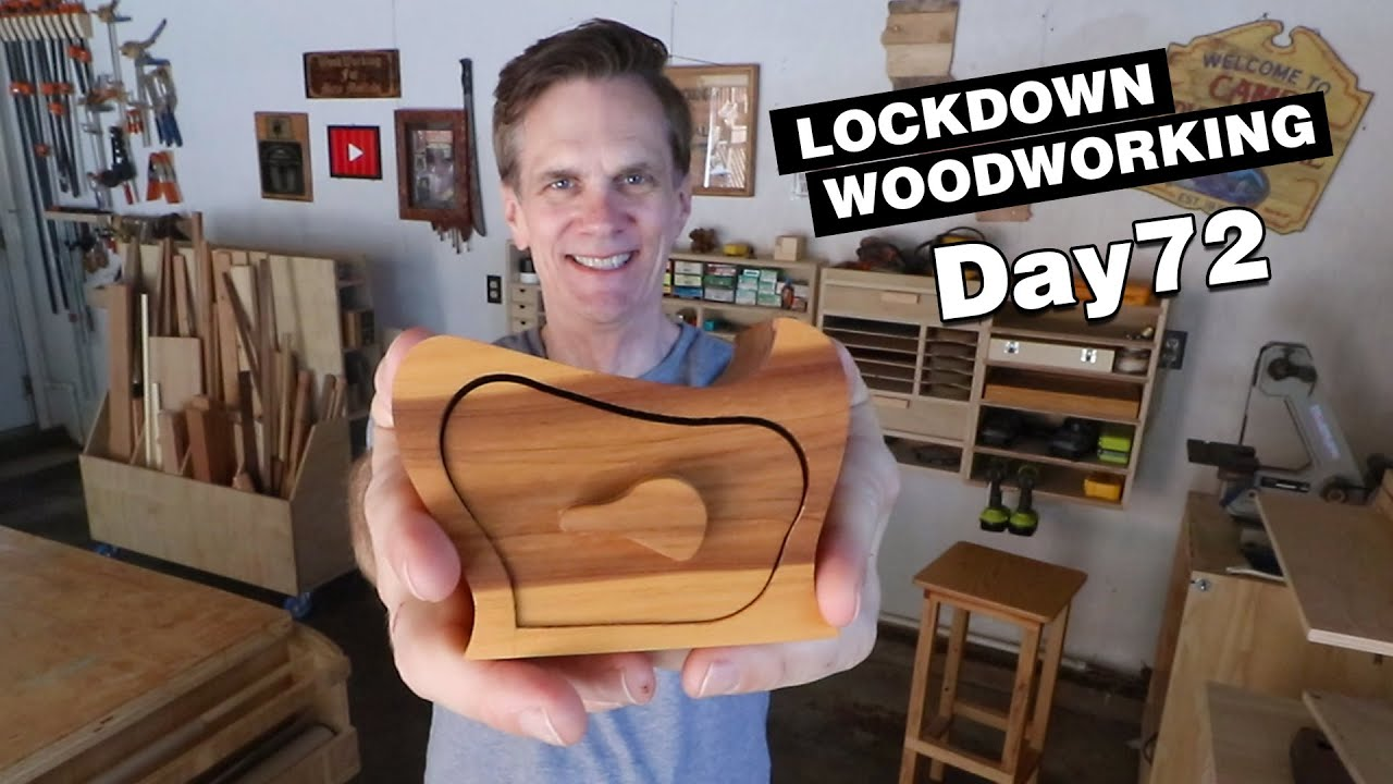 How to make a bandsaw box | LOCKDOWN Day 72