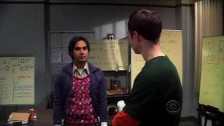 The Big Bang Theory - Rocky Scene