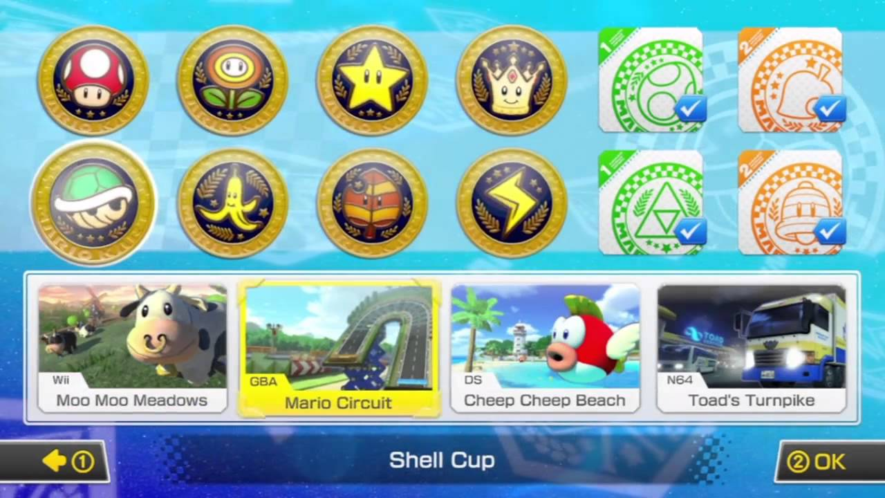 [Mario Kart 8] Look at the DLC Update