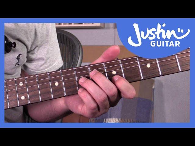 10 Funking Awesome Funk Chords | JustinGuitar.com