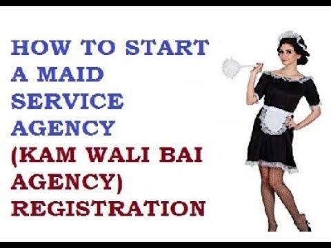 How Start House Maid Agency 9769693494  9029093494