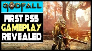 FIRST PS5 GAMEPLAY REVEALED - GODFALL LOOKS INCREDIBLE!