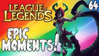 League of Legends Epic Moments - Perfect Timing, Thrown Around, Keep Missing