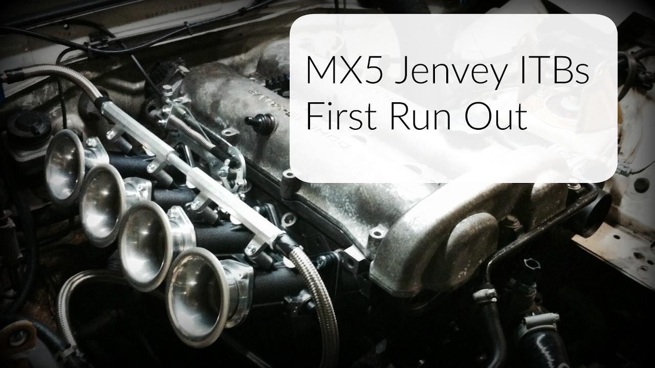 Jenvey ITBs // mk1 MX5 - First Drive