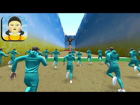 Squid Game 3D 🦑🦑 All Levels Gameplay Trailer Android,ios New Game