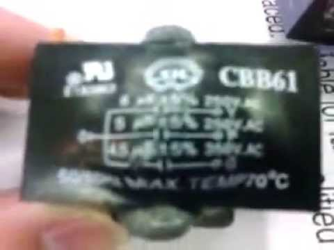 Ceiling Fan Capacitor Youtube