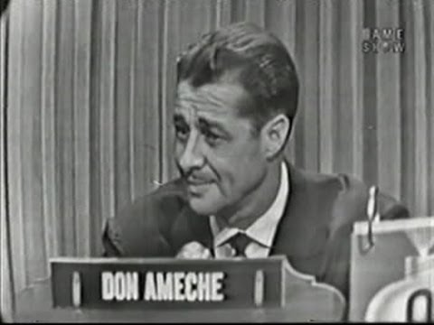 What's My Line?  Don Ameche May 24, 1953