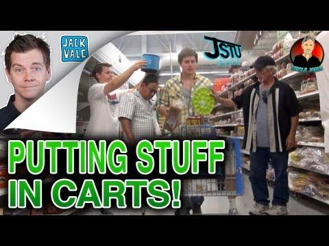 Loading Up Carts Prank!