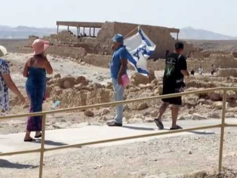 A tour at  Masada, King Herod's Fortress with Zahi Shaked 20.9.2011