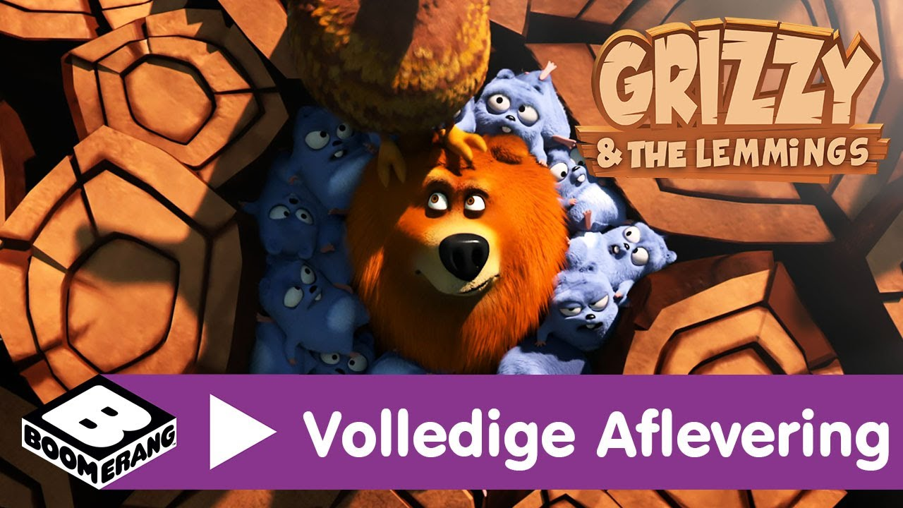 Download Grizzy en de Lemmings   Roep van de beer (Volledige aflevering)   Boomerang