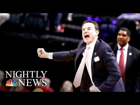 Legendary NCAA Basketball Coach Rick Pitino Ousted Amid Recruiting Scandal | NBC Nightly News