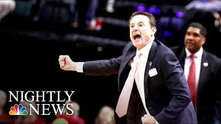 Legendary NCAA Basketball Coach Rick Pitino Ousted Amid Recruiting Scandal | NBC Nightly News