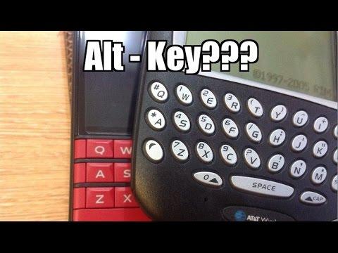 Demo phím Alt cho BlackBerry Passport