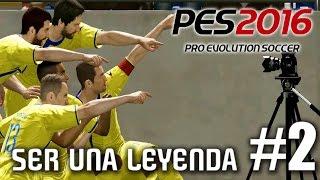 PES 2016 SER UNA LEYENDA #2 - TREMENDO DEBUT!!!