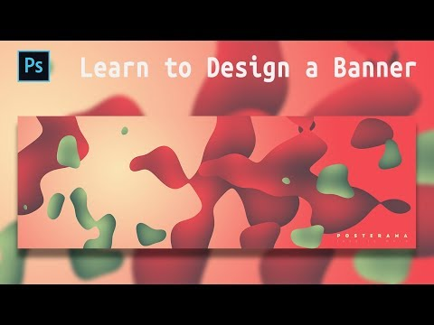 [Photoshop Tutorial] How to Make an Abstract Banner Design thumbnail