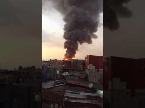 Fire in Malabon City 2017 NEW