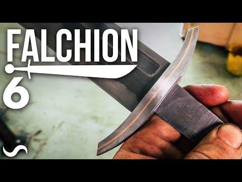 MAKING A FALCHION!!! Part 6