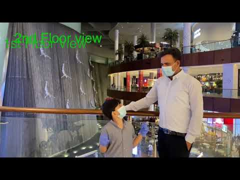 Dubai mall water falls   Dubai    EMAAR        UAE    urdu    hindi  dubai plus  