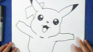 comment dessiner pikachu