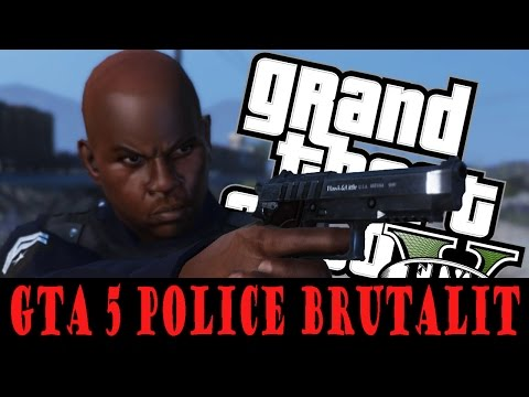 GTA 5 Brutal Kill Compilation #4( GTA 5 Funny Moments) Police Brutality