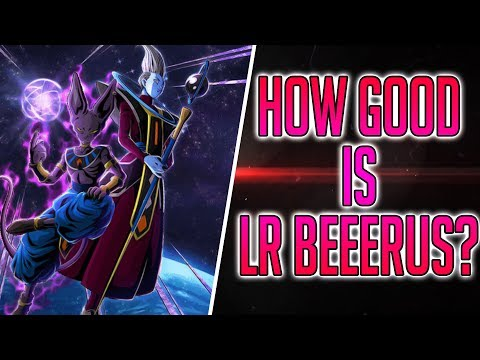 LR Analysis | How Good Is LR Beerus and Whis? Dragon Ball Z Dokkan Battle
