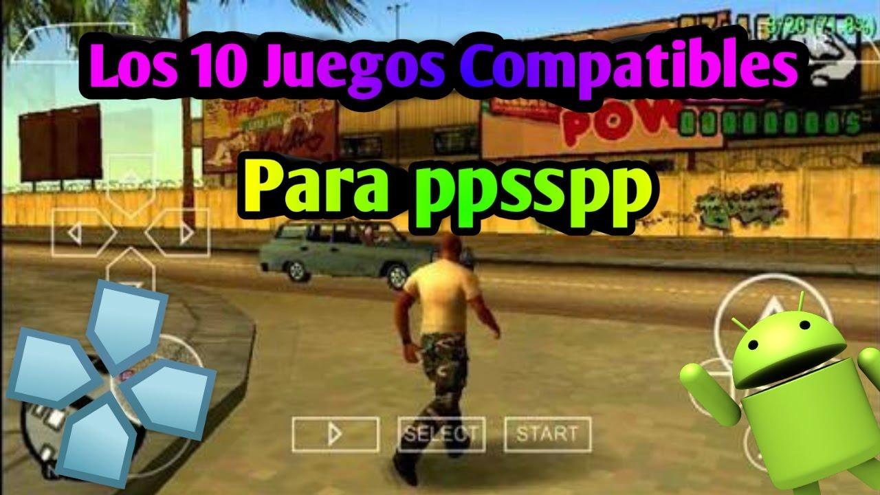 Los 10 Mejores Juegos Compatibles Para Ppsspp Para Android Gratis