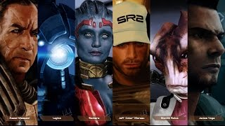 Mass Effect Characters #3 - Speed Painting by Facundo Morello