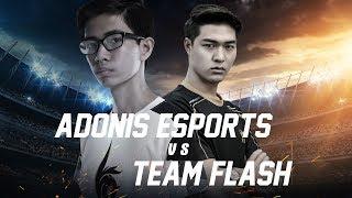 Team Flash vs Adonis Esports - Đấu Trường Danh Vọng Mùa Xuân 2018 - Garena Liên Quân Mobile