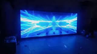 Videotron led screen outdoor p5 105x265cm