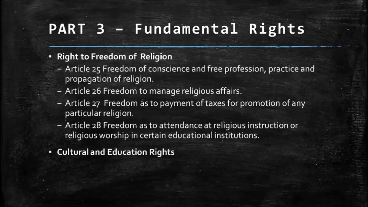 article 27 indian constitution