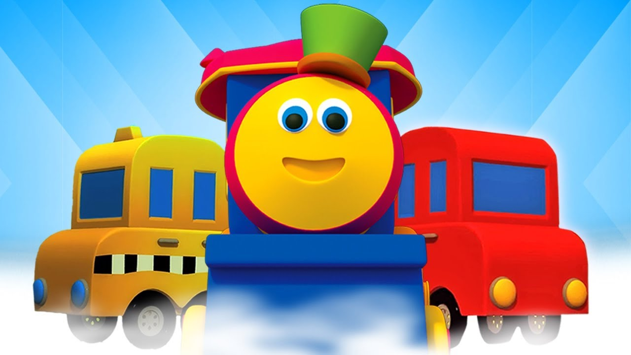 Tren De Transporte Bob Dibujos Animados Para Niños Transport Vehicles With Bob Kids Tv Español