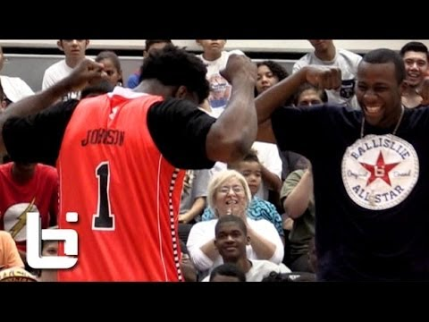 Stanley Johnson LIGHTS IT UP At The Ballislife All American Game!!! Bucket Team General