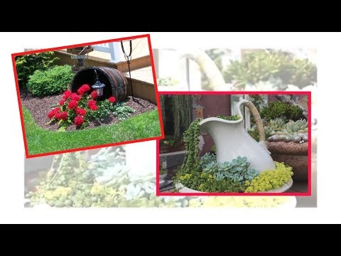 25 Most Beautiful Spilled Flower Pot The Art Of Gardening Youtube