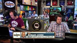 Bomani Jone on the Dan Patrick (Full Interview) 5/22/14
