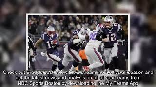 ✅  Tom Brady uses awesome Elandon Roberts quote to celebrate block vs. Bills