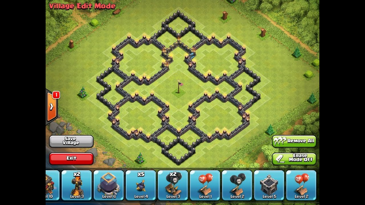 Clash of clans top 5 th10 bases ep 2 youtube